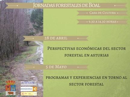 Jornadas forestales de Boal general