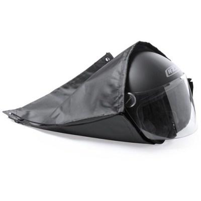 bolsa casco negra