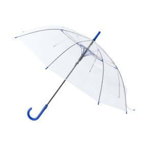 paraguas azul