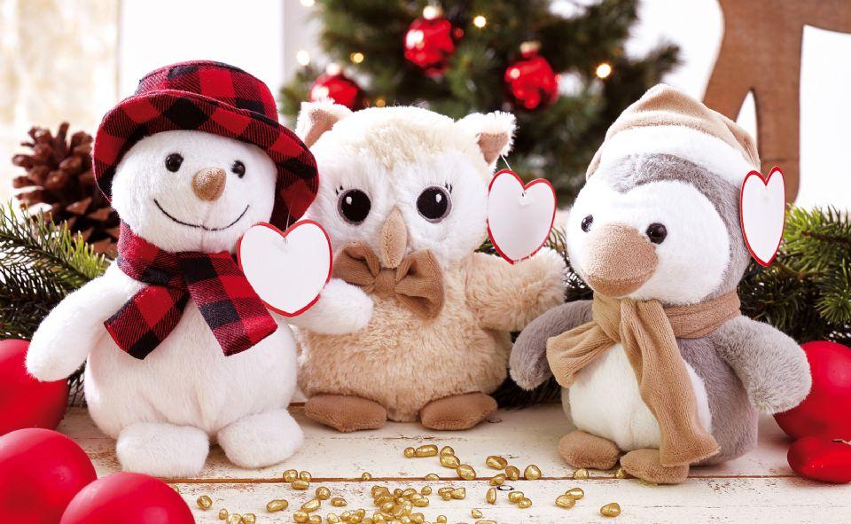 Colección Peluches de Navidad