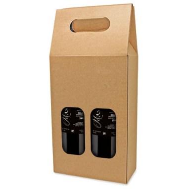 Caja para botella de vino – Vinoteca, Huesca