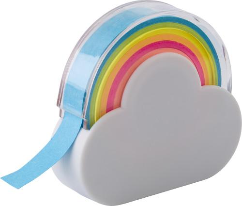 Dispensador de marcadores con forma de nube