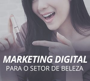 capa Marketing Digital para o Setor de Beleza