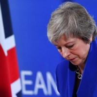 Theresa May fracassa novamente e o Parlamento Inglês rejeita acordo do Brexit