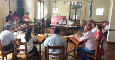 Se alineo municipio y concejo deliberante