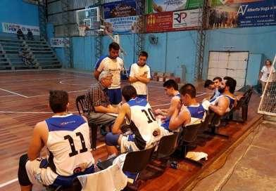 Atlético Mercedes lidera su grupo en el provincial de básquet