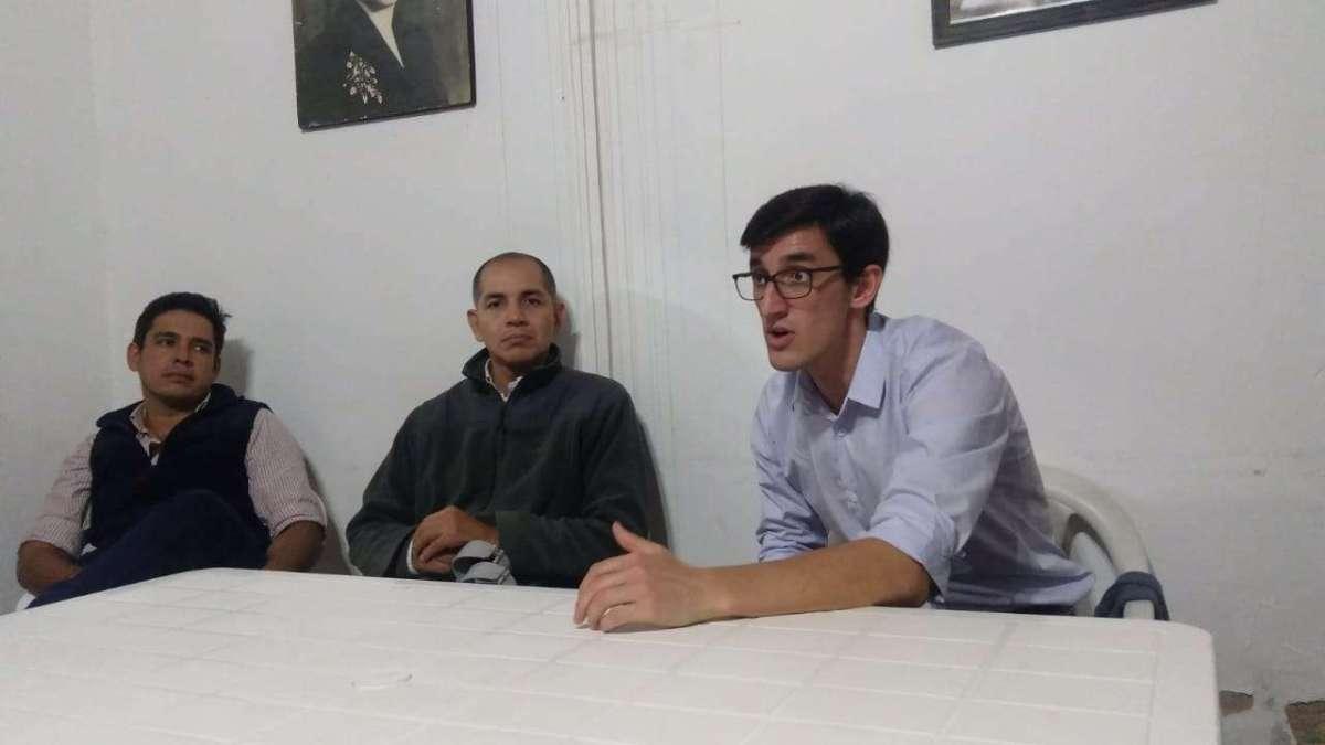 Marcos Otaño debatió propuestas con los compañeros del M.A.P.