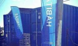 Asaltaron el container del Plan Hábitat
