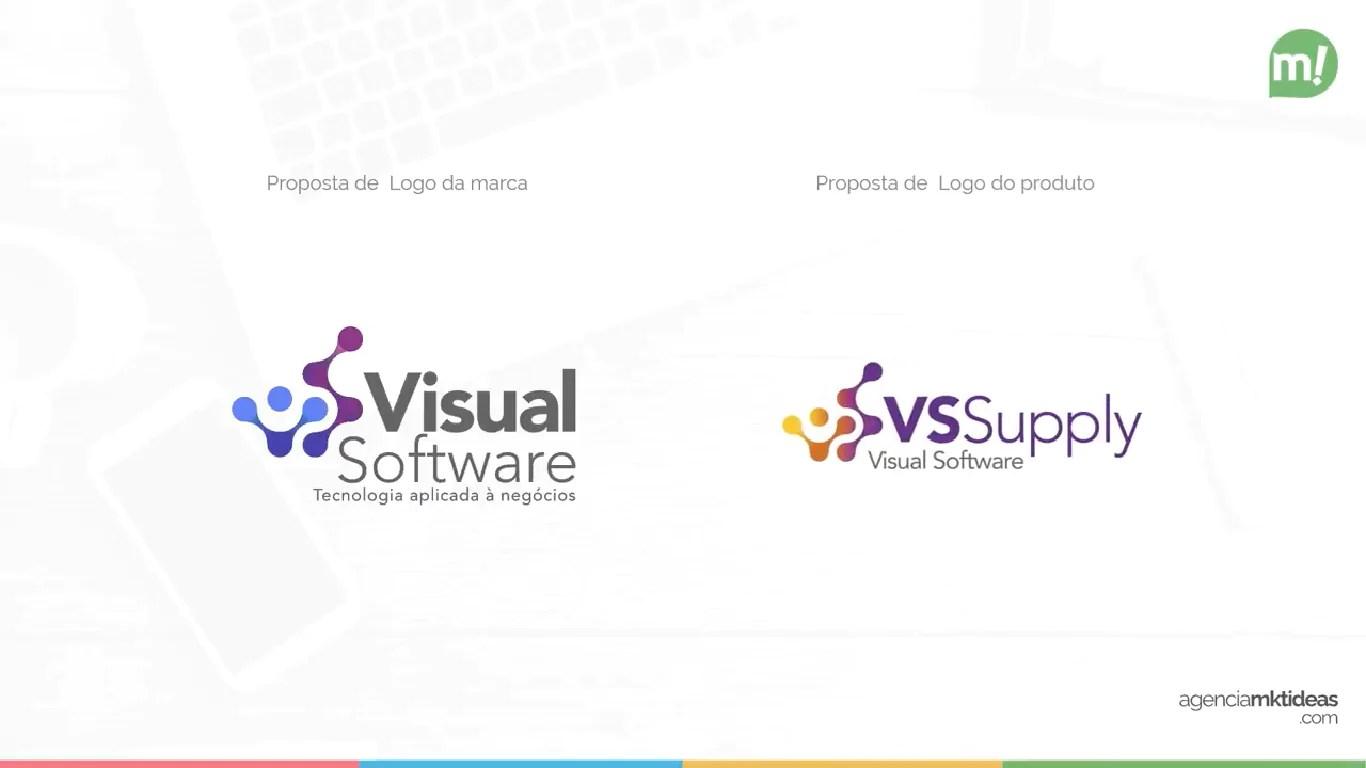Case: Criação de Identidade da Marca Visual Software