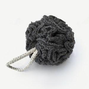 esponja banho tricot