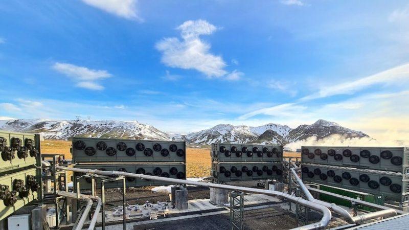 Maior central de captura de CO2 do mundo está na Islândia já funcionando!