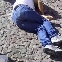 Ejecutan a un hombre y localizan narco manta en Taxco de Alarcón