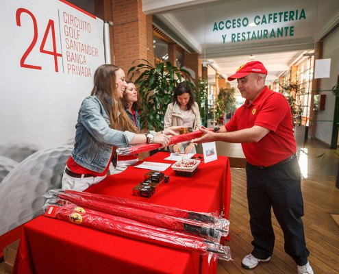 Torneo golf Banco Santander - Photogenic Agencia Gráfica