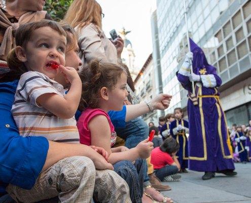 Procesión de Viernes Santo en Valladolid