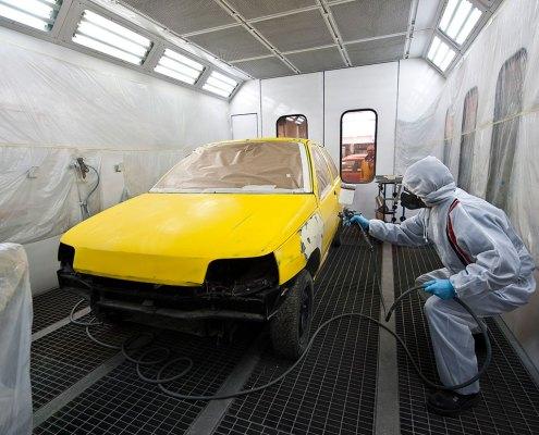 Pintura de vehículo - Photogenic Agencia Gráfica