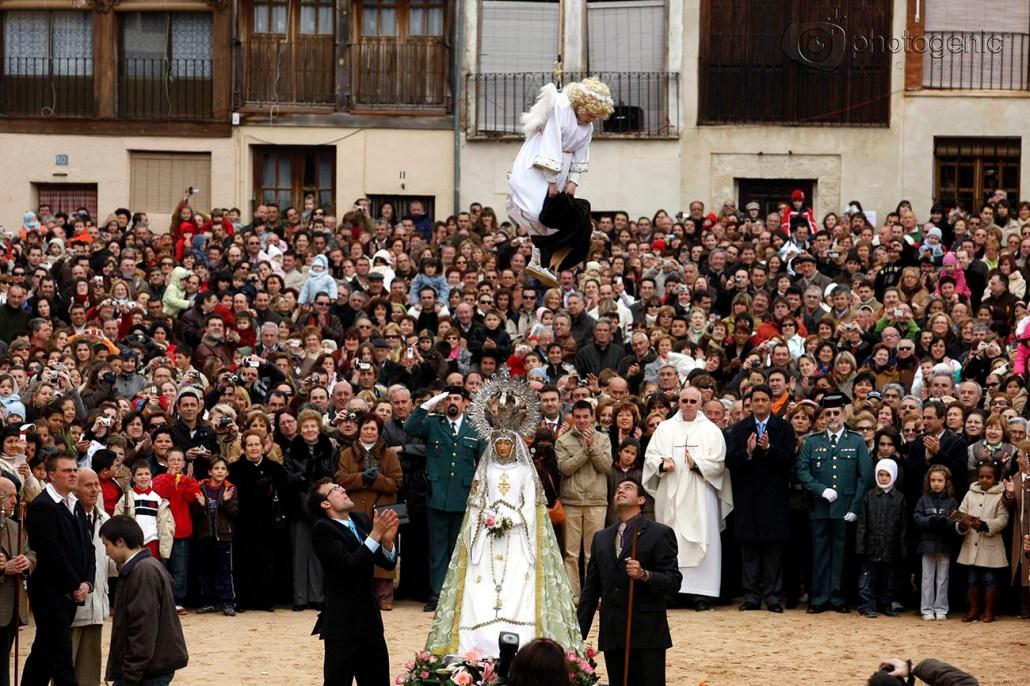 Bajada del Ángel de Peñafiel, 2008