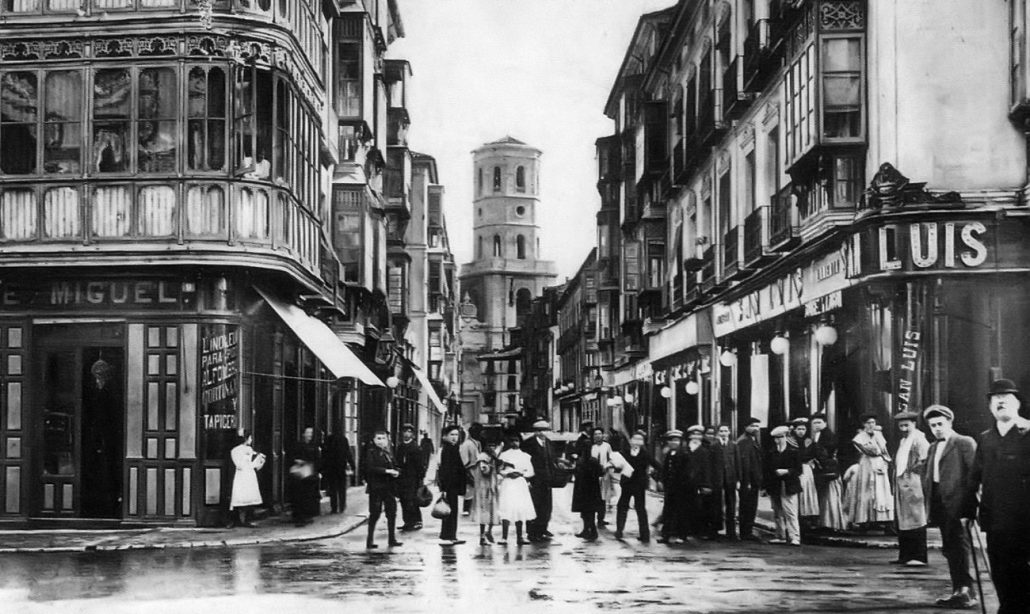 Antigua calle Alfonso XII