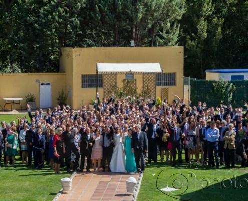 Todos los invitados de una boda Photogenic