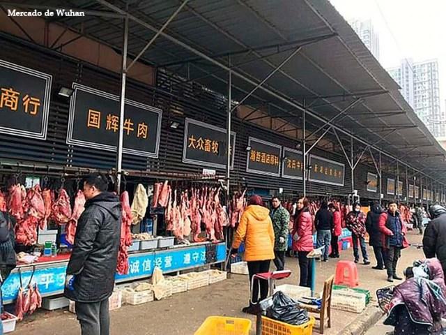 Image result for mercado de Wuhan