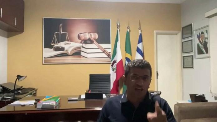 Prefeito de Iuiu se pronuncia após episódio polêmico com policias militares