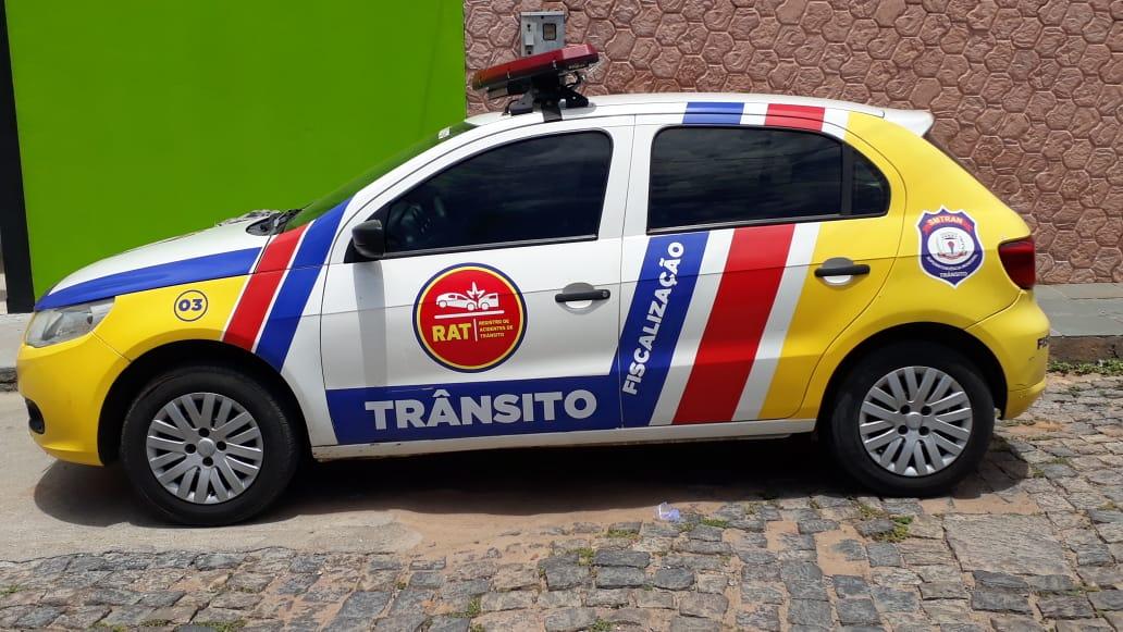 Smtran recolheu colete e multou mototaxista acusado de desrespeitar passageiros em Guanambi