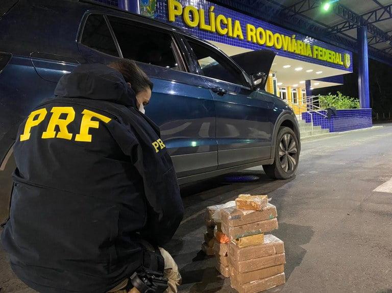 PRF crack cocaína br-116 Vitória da Conquista