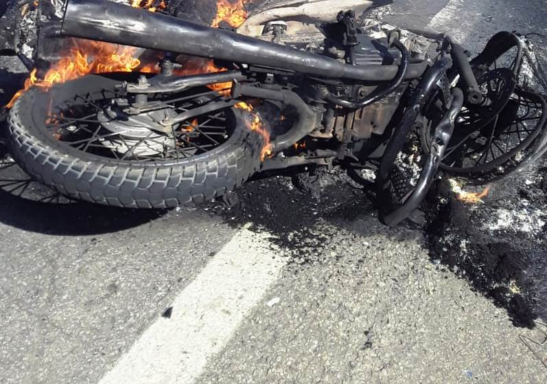 acidente moto bom jesus da lapa