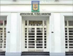 La AFA envió protocolo al Ministerio de Salud para entrenamientos
