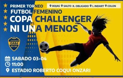 Boca organiza la Copa 'Ni Una Menos'