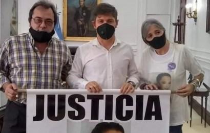 Kicillof recibió a Patricia Nasutti y Adolfo Bahillo