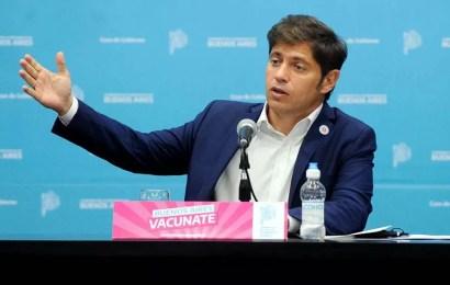 """Kicillof anunció nuevas medidas para Buenos Aires: """"No es una ola, es un tsunami"""""""