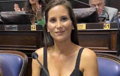 """Micaela Morán: """"Martín Caso es nuestro referente del Frente Renovador en Rojas"""""""