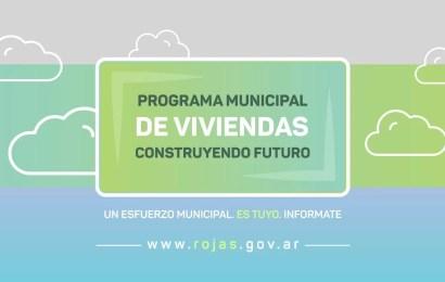 """Comienza la inscripción al Programa Municipal de Viviendas """"Construyendo Futuro"""""""