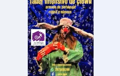 Dictarán curso de clown