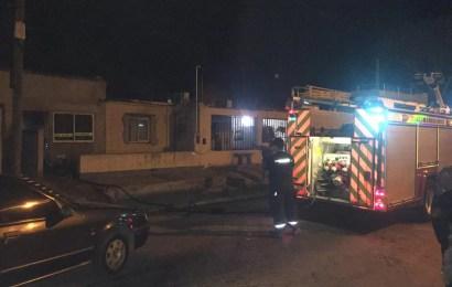 El fuego tomó vivienda en barrio PyM