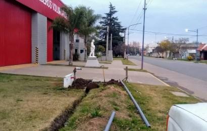 Bomberos amplía su red de conexión para la carga de agua