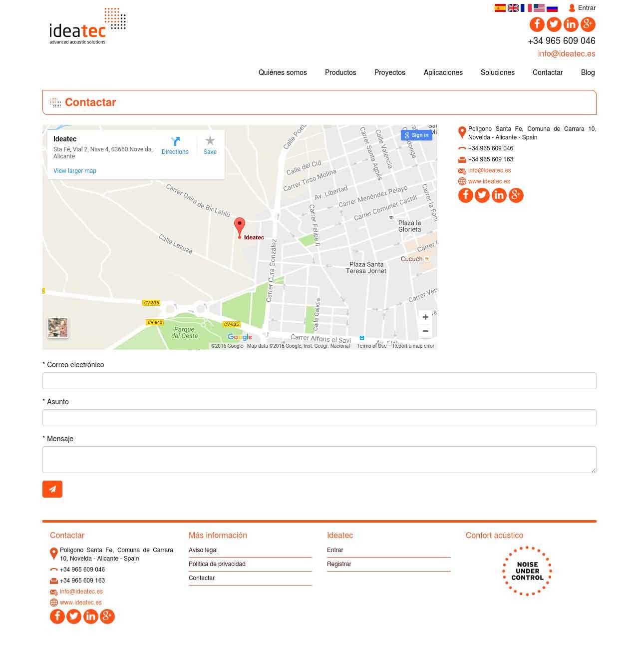 Agencia Sidecar ideatec-contacto-agencia-sidecar Ideatec