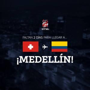 Post Facebook HTMi Dos días para Medellín