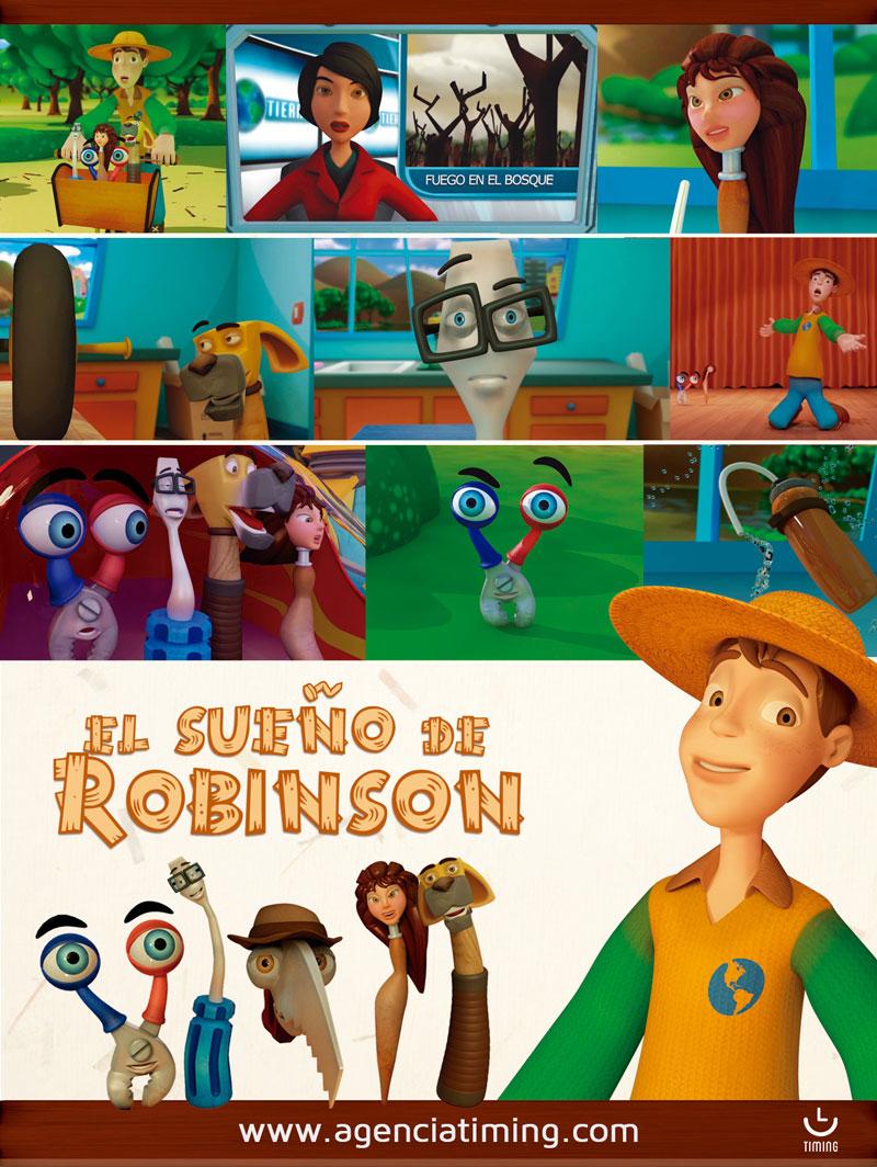 Poster El Sueno de Robinson