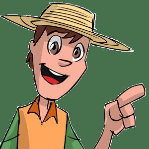 Imagen Video Corporativo Animado personaje señalando