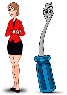 imagen personajes animados en 2D