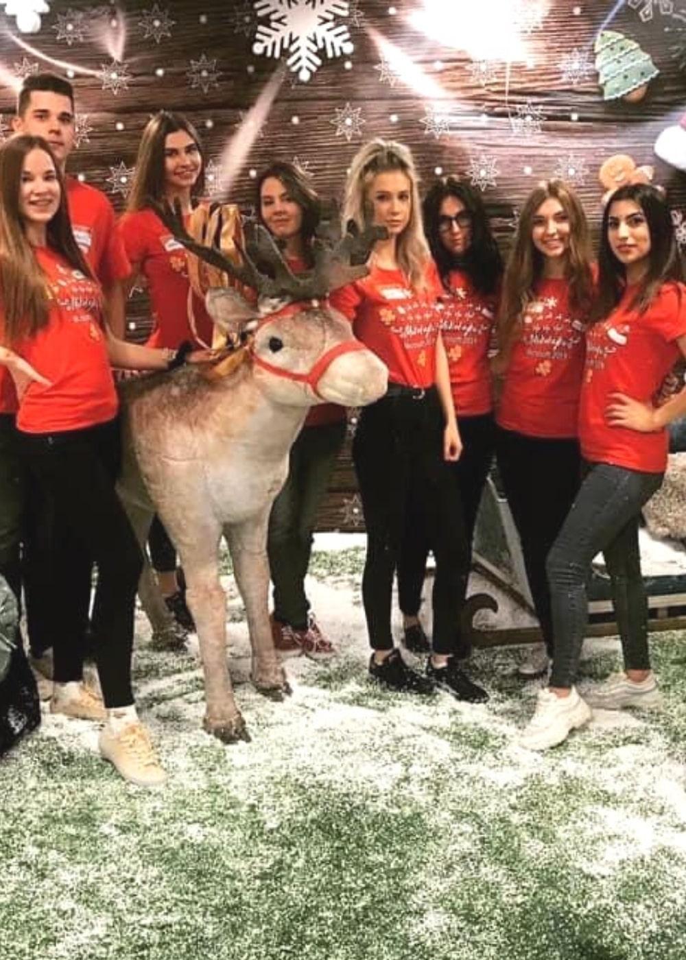 hostessa na akcje świąteczne