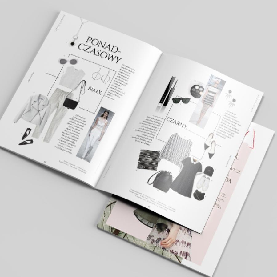 20 oprezentacja trendow w magazynie modowym