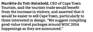 Cape Town Design Capital 2014