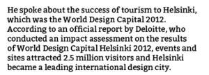 Cape Town Design Cape Town 2014 Alan Winde Quote