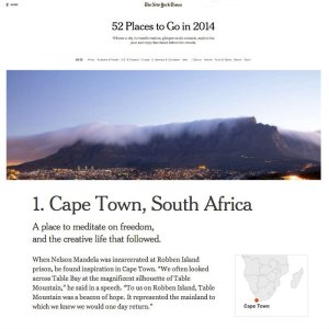 Cape Town New York Times