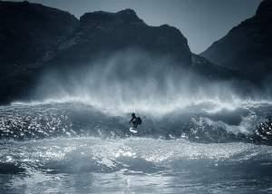 Kommetjie Surfing near cape town