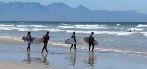 Muizenberg surfers