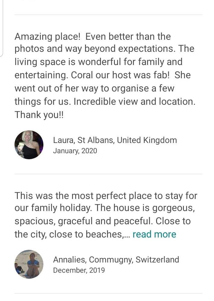 Airbnb reviews agency.capeholidays.info