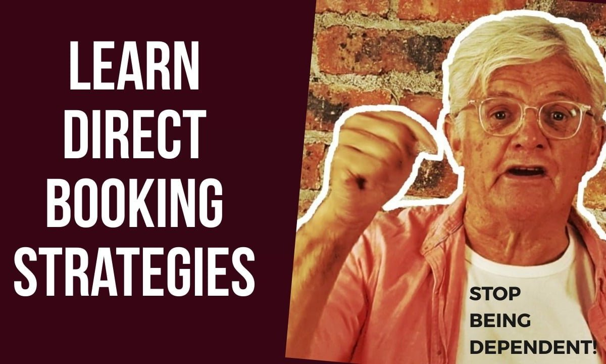 How To Get More Direct Bookings To Your Website Strategy